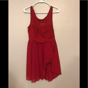 IEFIEL RED DANCE COSTUME OUTFIT